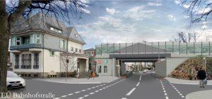 S-Bahnhof Blankenburg Brücke nach Abschluss der Bauarbeiten