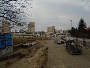 Baustelle Wiltbergstrass