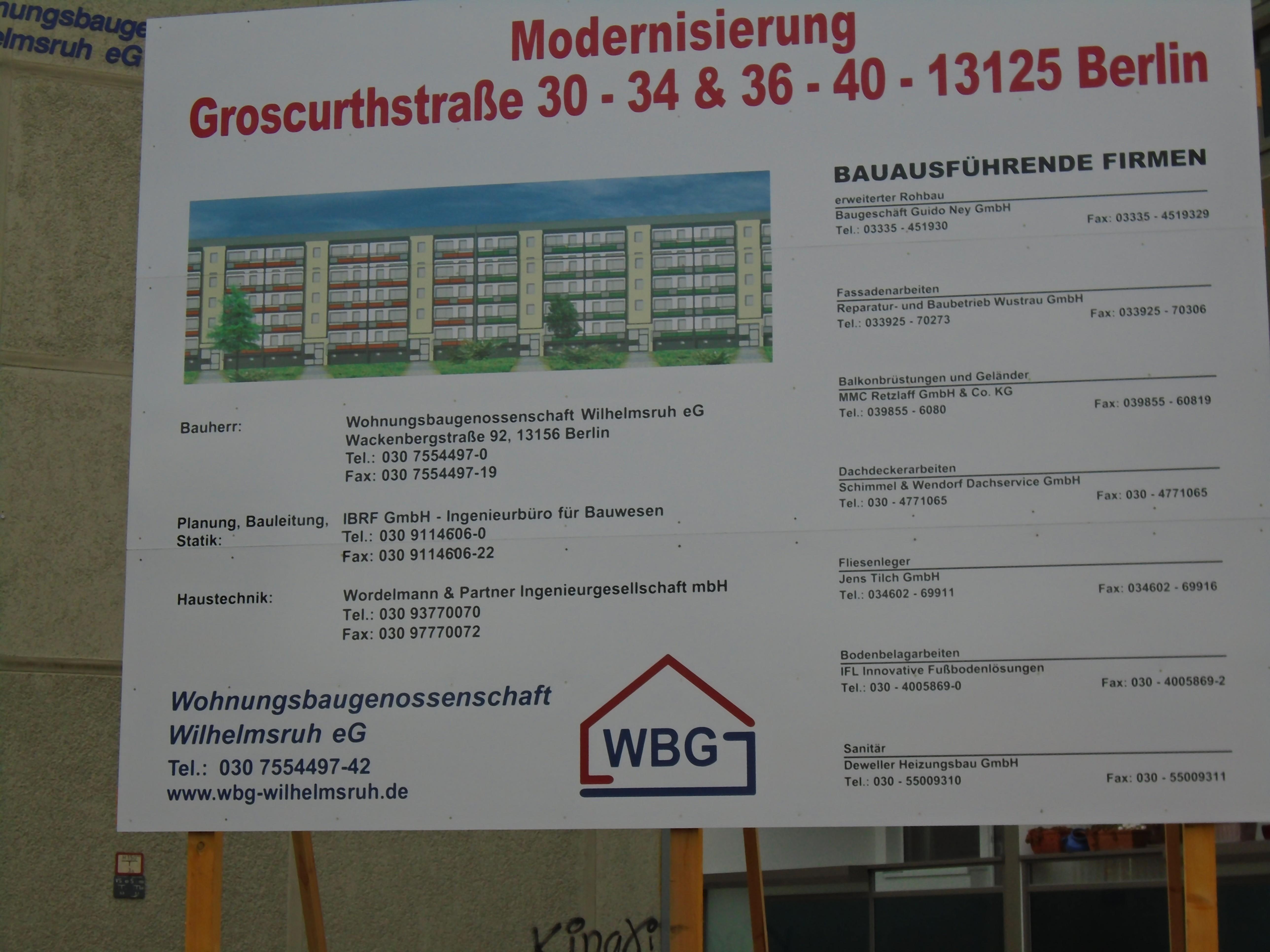 Wiltbergstrasse   Bucher Bürgerverein e.V.