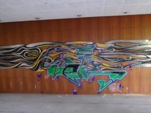 Kunst Kantinenbereich Stasikrankenhaus