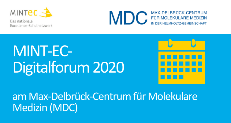 MINT-EC-Digitalforum 2020 @ Campus Buch, MDC